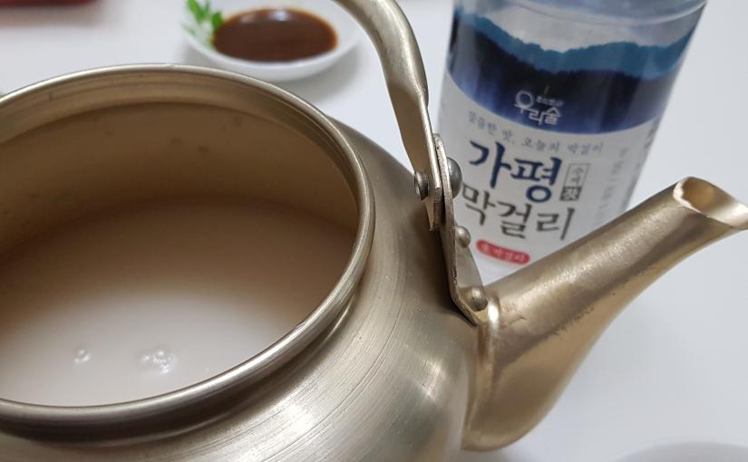 #8 Gapyeong Makgeolli (가평막걸리)
