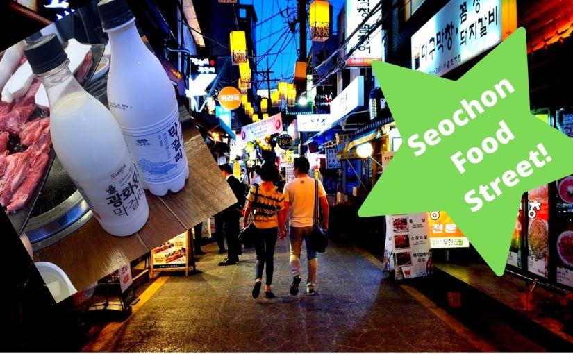 Seochon Food StreetTour