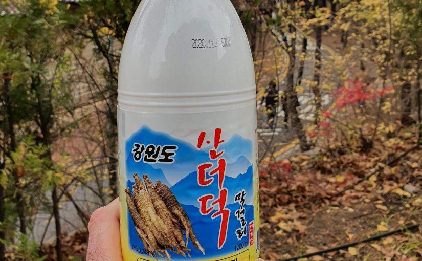 #70 Gangwon-do Dodeok Makgeolli (강원도 산도덕막걸리)