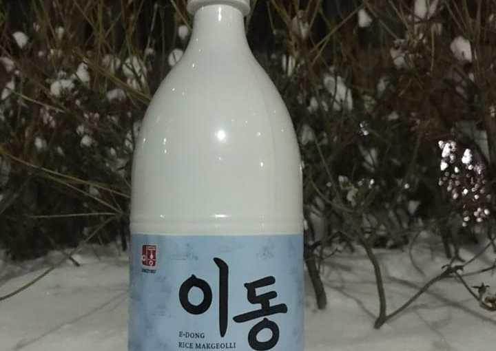 #76 E-Dong Rice Makgeolli (이동 쌀막걸리)